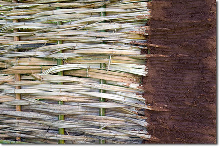 Bamboo Wattle and Daub Structures | Sustainable Futures | Scoop.it