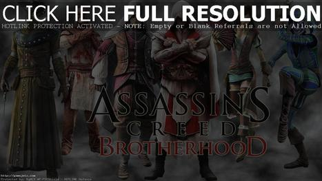Games Assassins Brotherhood HD Wallpapers Free #3380 Wallpaper | gamejetz.com | gamesjetz | Scoop.it