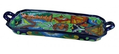 Talavera Decorative Rectangular Serving Dish | Home Decor | Scoop.it