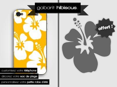 DIY | Gabarit Fleur d'Hibiscus à télécharger gratuitement ! | Stickerzlab, des astuces et des idées déco pour tous | stickers autocollants décoratifs | Scoop.it