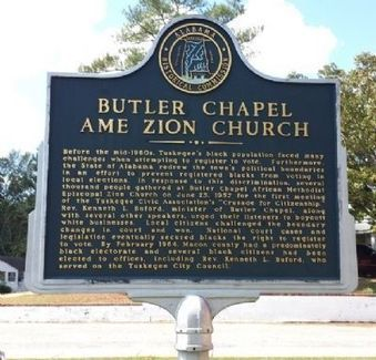 Butler Chapel AME Zion Church Marker | History | Scoop.it