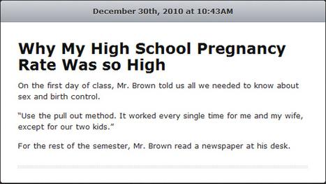 26 Ridiculous Sex-Ed Fails   Teenager   Scoop.it