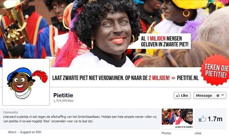 Zwarte Piet abolished? Outrage in Netherlands where 'Black Pete' is Christmas ... - Daily Mail | Racism in the Netherlands | Scoop.it
