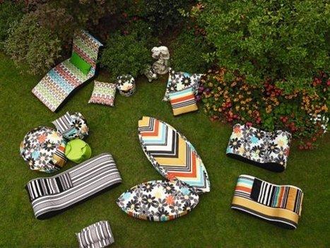 Missoni habille le jardin | La minute déco | la minute deco | Scoop.it