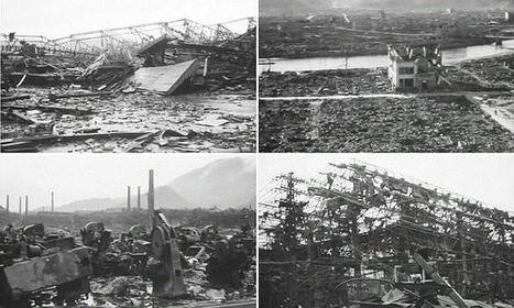 Rare video shows devastation of Hiroshima and Nagasaki after bombings | Navigate | Scoop.it