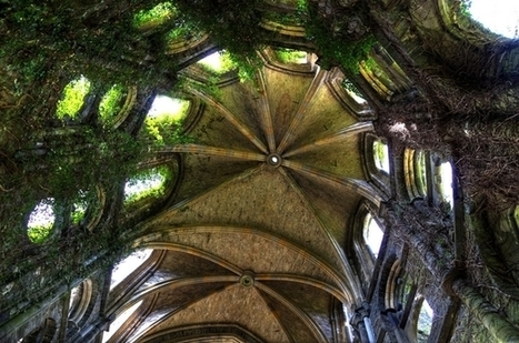 Inside looking up at the ruins of Villers Abbey church Founded in  abandoned in  Belgium   Exploration: Urban, Rural and Industrial   Scoop.it