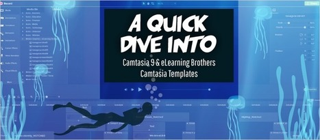 A Quick Dive Into Camtasia 9 and eLearning Brothers Camtasia Templates - eLearning Brothers | eLearning Templates | Scoop.it