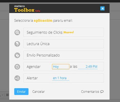 MxHero potencia Gmail con cinco funciones adicionales | Adiós Mozilla | Scoop.it