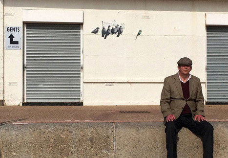 Banksy's ironic 'protesting birds' art piece erased as 'offensive and racist' | Global politics | Scoop.it
