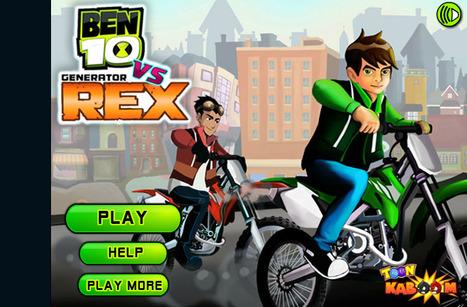 Ben10 Vs Rex Truck Champ - Play Your Best Ben 10 Games On ToonKaboom.com   Ben 10 Games   Spiderman Games   Scoop.it