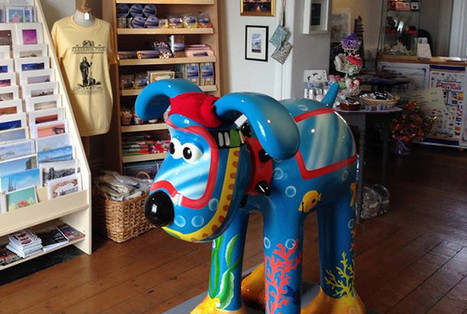 Clevedon Pier gets its own Gromit ahead of Shaun the Sheep sculpture trail | Nonprofit technology | Scoop.it