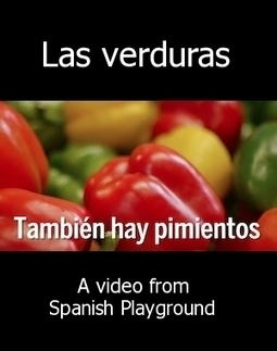 Spanish Words Kids Love Video: Las Verduras | Preschool Spanish | Scoop.it