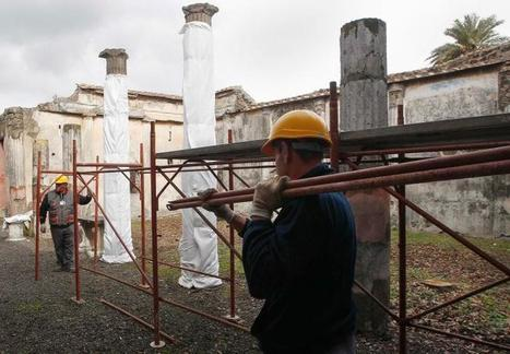 Rescue of Ancient Ruin of Pompeii Follows New Plan   Ancient History   Scoop.it