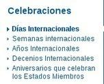 Escuela Espacio de Paz en el IES Torre Almenara: Efemérides: Listado de días Internacionales de la UNESCO   Espacio de Paz IES Torre Almenara   Scoop.it