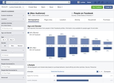 What Facebook Audience Insights really means for advertisers   MarketingHits   Scoop.it