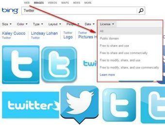 Bing anuncia que ahora se pueden buscar imágenes por tipo de Licencia | Fotografía | Scoop.it