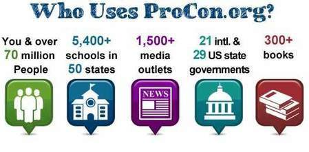 ProCon.org - Pros and Cons of Controversial Issues | The McKeel IBIS Grant | Scoop.it