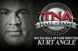 The Kurt Angle 2013 TNA Hall Of Fame Video | TNA AJ Styles Black Hooded Jacket | Scoop.it