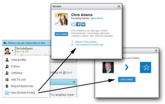 Social Selling Gets A Boost From Nimble Integration Within Hootsuite | Social Selling for Lawyers | Scoop.it