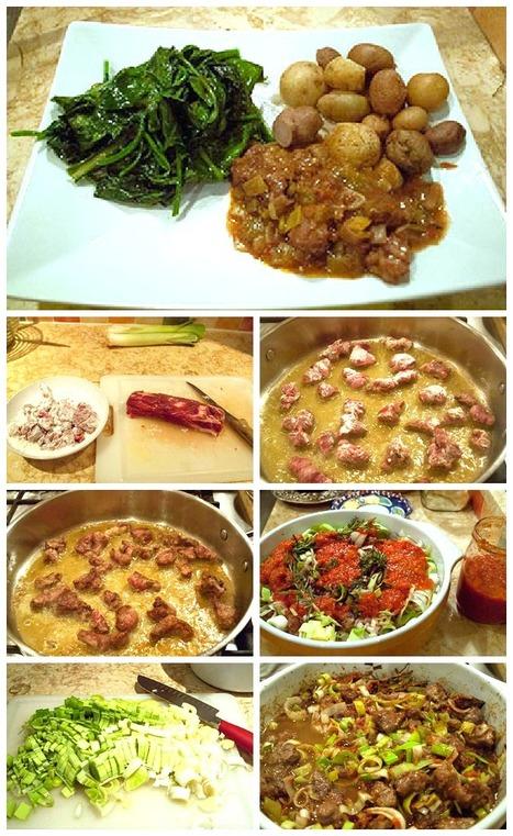 Spezzatino di Manzo ai Porri - Beef Stew with Leeks   Le Marche and Food   Scoop.it