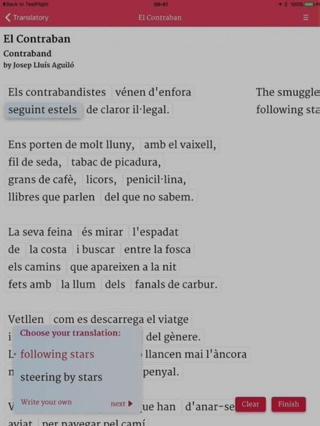 Translatory: A Poetry Translation App | SPLEEN  ? MILZA... | Scoop.it