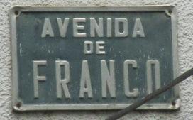 Il reste des rues Franco en Espagne | Brèves de scoop | Scoop.it