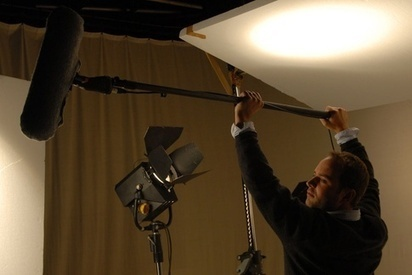 """What is the role of the """"boom guy"""" in film production?   Filmmaking Equipment   Scoop.it"""