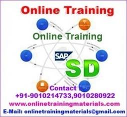 SAP SD online training institute in Ameerpet, SAP SD Online Training Institute from Hyderabad India.   Online Training Materials   Online Training   Scoop.it