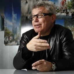 """Daniel Libeskind rails at architects """"building gleaming towers for despots"""" 