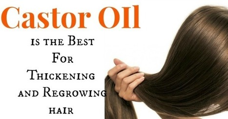 Castor Oil Hair Treatment   At Home Health and Beauty Tips   Scoop.it