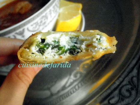 recette ramadan/brick ricotta épinard | billet | Scoop.it