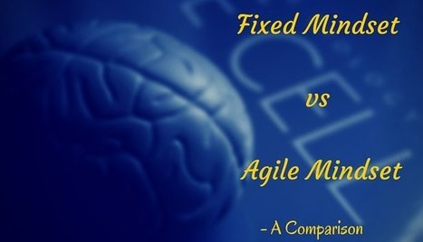 Fixed Mindset vs Agile Mindset- A Comparison | Positive futures | Scoop.it