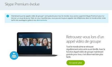[PARTAGE d'écran] Skype : une autre fonctionnalité qui devient gratuite... | Machines Pensantes | Scoop.it