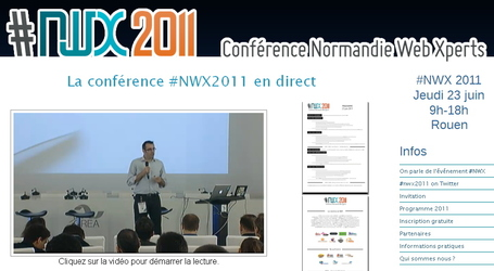 Conférence Normandie Web Xperts 2011 en direct | Rouen | Scoop.it