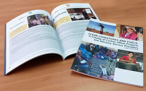 GAM Impremta Digital Printing near Barcelona, Spain, did a super job printing this fast turn Carbon Credit Catalog we designed and edited for the Global Alliance for Clean Cookstoves. | Flynn Design | Scoop.it