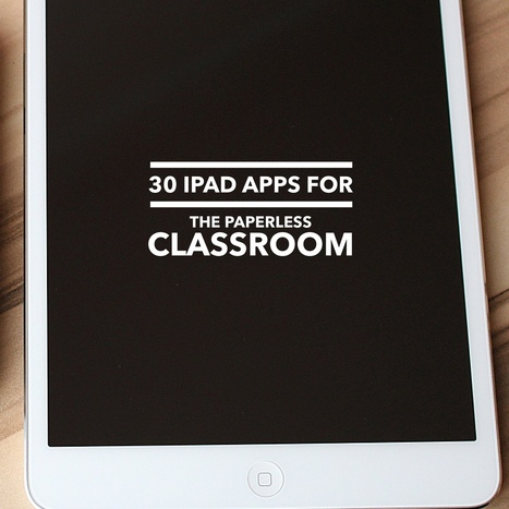 30 essential iPad Apps for the paperless classroom (infographic) | iEduc | Scoop.it