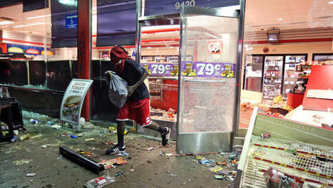 Death of a black teenager sparks riots in Missouri   Criminal Justice in America   Scoop.it
