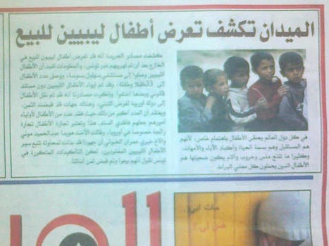 Libye :105 enfants kidnappés dans un orphelinat qui prennent la mer vers l'Europe (destination inconnue)   Rosaelle   Scoop.it