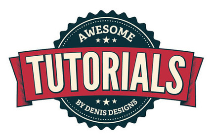 46 Excellent Adobe Illustrator Tutorials for Creative Logo Design |… | For the Love of Typography | Scoop.it