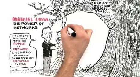 Manuel Lima Visualizes Knowledge in Our Interconnected World in a Brand New RSA Animated Video | A New Society, a new education! | Scoop.it