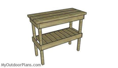 BBQ Table Plans | MyOutdoorPlans | Free Woodworking Plans and Projects, DIY Shed, Wooden Playhouse, Pergola, Bbq | Garden Plans | Scoop.it