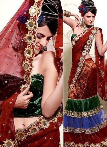 Eye Catching Sarees for Wedding Occasion | Facebook | I don't do fashion, I am fashion | Scoop.it