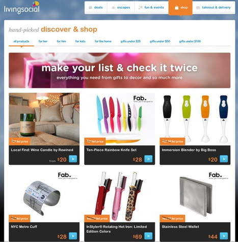 Design shopping site Fab partners with LivingSocial for distribution | Content Curation Tools For Brands | Scoop.it