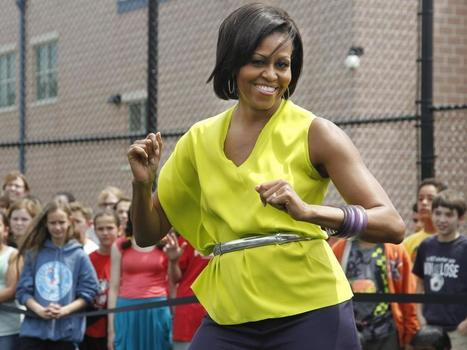 Michelle Obama does 'the dougie' | On the Light Side | Scoop.it