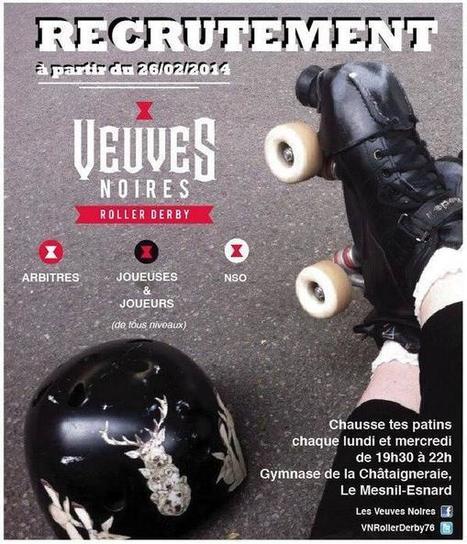 Tweet from @VNRollerDerby76   Les Veuves Noires : News & Press Review   Scoop.it