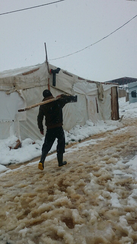 In Pictures: Syrian Refugees Are Freezing to Death as Snow Blankets the Region | AUSTERITY & OPPRESSION SUPPORTERS  VS THE PROGRESSION Of The REST OF US | Scoop.it