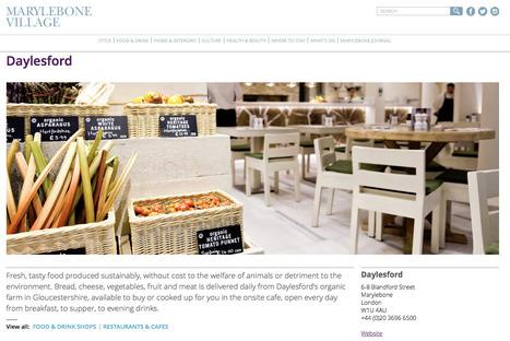 Marylebone Village, Place-making in London | Digital Portfolio by Small Back Room | Scoop.it