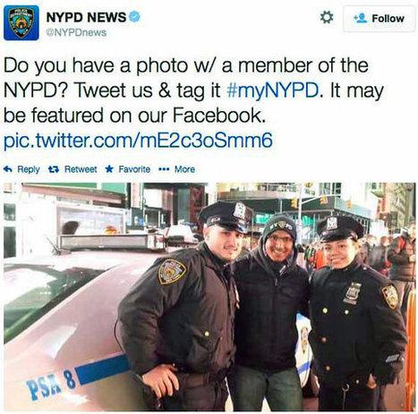 Despite Twitter Backlash, New York Police Dept. Plans to Expand Social Media Efforts | Social Media Marketing | Scoop.it