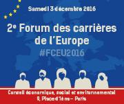 2eme forum des carrières de l'Europe | Infolettre n°22 nov-dec 2016 | Scoop.it