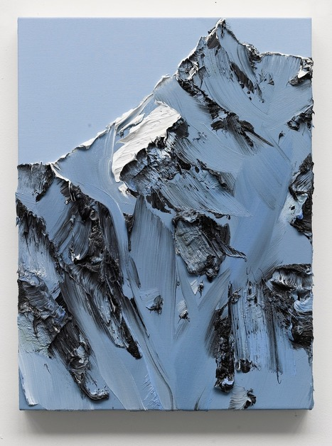 Conrad Jon Godly's #Mountain #Paintings Drip from the #Canvas. #art #landscape | Luby Art | Scoop.it